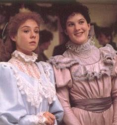 Anne Shirley and Diana Barry, bosom friend and kindred spirits from Anne of Green Gables by Lucy Maud Montgomery.