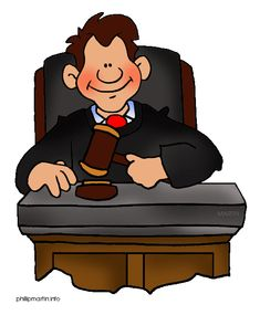 """Judicial Branch - US Government - """"Cape of Justice"""" cartoon story detailing some processes of judicial system"""