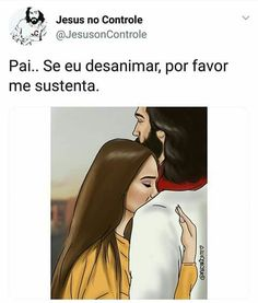 E se eu cair a tua mão me levantará e se eu chorar toda lágrima você enxugará... Jesus Is Life, My Jesus, Jesus Crist, Bride Of Christ, King Of My Heart, Jesus Freak, Jesus Loves Me, King Of Kings, Jesus Saves