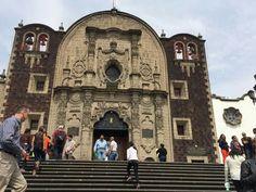 Iglesia del Cerrito. Tepeyac. México