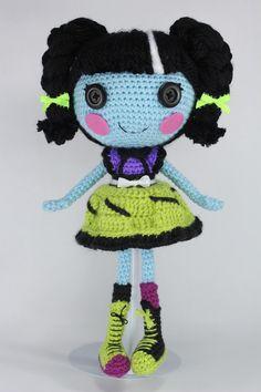 LALALOOPSY Scraps Stitched N Sewn Amigurumi Doll by Npantz22.deviantart.com on @deviantART