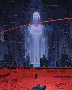 "retro and sci-fi art su Instagram: ""Blade Runner 2049 artwork by Maciej Kuciara and Ash Thorp for RSA and Alcon Entertainment. @maciejkuciara @ashthorp…"" Cyberpunk Aesthetic, Cyberpunk City, Arte Cyberpunk, Blade Runner Art, Blade Runner 2049, Blade Runner Wallpaper, Blade Runner Poster, Wallpaper Animes, Animes Wallpapers"