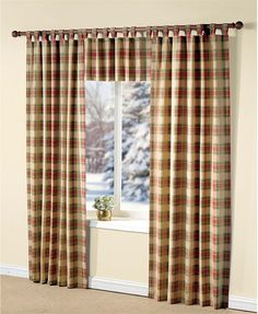 Plaid Curtains