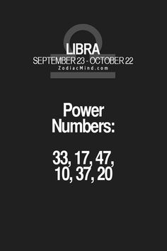 Zodiac Mind - Your source for Zodiac Facts — What are the signs power numbers? Libra Scorpio Cusp, Libra Quotes Zodiac, Libra Sign, Libra Traits, Libra Horoscope, My Zodiac Sign, Libra Astrology, Aquarius, Zodiac Posts