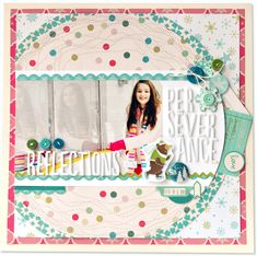 #papercraft #scrapbook #layout      Thursday Sketch Post with Silent Night   Eggnog
