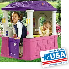 Step2 Four Seasons Playhouse, Pink and Purple (MUST HAVE gift for Taliyah)