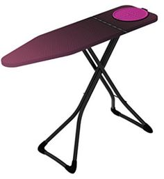 Fashionable and compact, the Minky Homecare Hot Spot Pro Ironing Board with Prozone II Cover is loaded with top end features in one small, easy to manage board including a repositionable silicone iron mat, a heat reflective cover, and sturdy loop legs. Ironing Board Covers, Ironing Boards, Iron Steamer, Best Cleaning Products, Iron Board, Picnic Table, Hot, Decor, Home