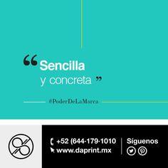 Una marca debe comunicar de forma sencilla sus valores, no es necesario que el comprador analice todo el producto #PoderDeLaMarca