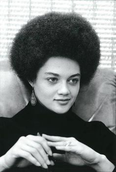 Kathleen Cleaver, Esq., former Black Panther. She was the 1st female member of the Black Panther Party's decision making body. She was also the wife of Eldridge Cleaver (R.I.P.) and currently serves as a Senior Lecturer at Yale University.