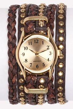 Wrap style watch