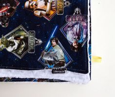 star wars baby blanket by 3littlerascals on Etsy, $36.00