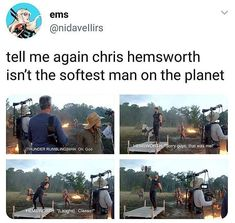 Who is the fittest super hero in marvel cinematic universe. Funny Marvel Memes, Marvel Jokes, Dc Memes, Avengers Memes, Marvel Dc Comics, Marvel Heroes, Stucky, Chris Hemsworth Thor, Book Series