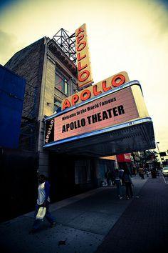 Apollo Theatre in Harlem ~ New York City, New York