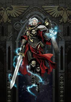 Warhammer 40k Memes, Warhammer Art, Warhammer 40000, Character Concept, Character Art, Concept Art, Character Design, Warhammer Fantasy, 40k Sisters Of Battle