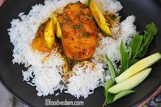 Nellore Fish Curry - How to make Andhra Mango fish Curry - Foodvedam Veg Recipes, Curry Recipes, Easy Chicken Recipes, Indian Food Recipes, Asian Recipes, Cooking Recipes, Kheer Recipe, Biryani Recipe, Masala Recipe