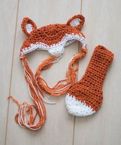 Love this Fox Prop Beanie & Tail by Maddie's Mad Hatters on #zulily! #zulilyfinds