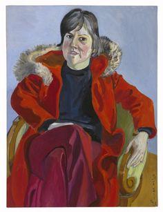 Mary Beebe (1975) by Alice Neel.  Art Experience NYC  www.artexperiencenyc.com