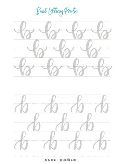 Calligraphy Discover Brush Lettering Worksheets Lowercase and Uppercase lettering Worksheets Brush Calligraphy Printable Brush Lettering Worksheet, Calligraphy Worksheet, Lettering Guide, Hand Lettering Practice, Calligraphy Letters, Modern Calligraphy, Cursive Alphabet, Hand Lettering Alphabet, Different Lettering Styles