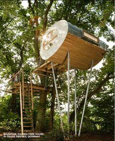 Baumram Djeren treehouse, Germany
