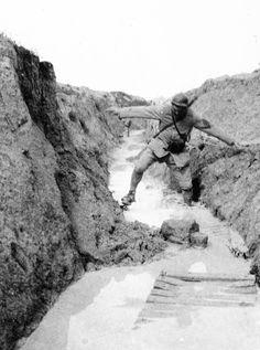 August 1917 (Marne)  http://www.francetvinfo.fr/societe/guerre-de-14-18/cadavres-poux-et-rugby-la-grande-guerre-vue-par-un-medecin-francais_450890.html