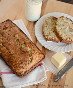 Perfect classic banana bread - ATK's recipe with melted butter and yogurt in the batter for the win. You'll never try another recipe!
