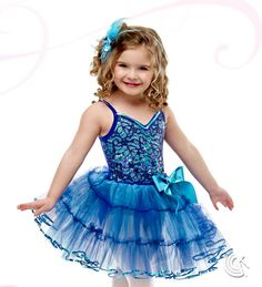 Curtain Call Costumes® - Blueberry Delight Kids or baby ballet dance costume