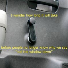 That's how we opened windows and every window had a crank.  They weren't under the control of the driver, per se.  The driver would occasionally yell at someone who opened a window in the rain or cold.