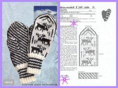 Photo Mittens Pattern, Knit Mittens, Knitting Patterns, Knit Crochet, Gloves, Photo Wall, Wool, Wall Photos, Charts