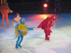More the Little Mermaid at Disney on Ice.