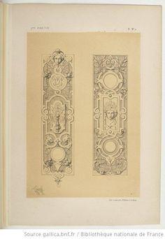 Specimens de la décoration et de l'ornementation au XIXe siècle / par Liénard - 89