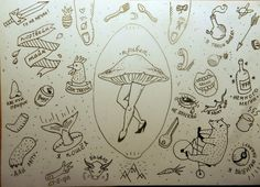 sticks and poke tattoo - Google Search                                                                                                                                                                                 More