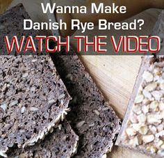 Video: Making Danish Rye Bread