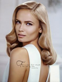 Natasha Poly for L'Oreal