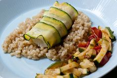 fish and seafood recipes | Zucchini-Wrapped Fish