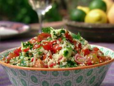 Food Network invites you to try this Quinoa Tabbouleh recipe from Aarti Sequeira.