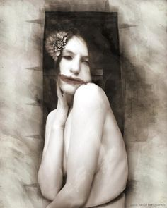 The Black Dahlia by David Defigueredo Killer Tattoo Canvas Art Print – moodswingsonthenet