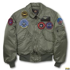 US Wings Top Gun CWU-45P Military Jacket 41e7eccfc26c6