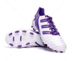 Botas de fútbol Adidas Predator Absolion TRX FG ADULTO | White / Lila 59,95€ (G40906) #botas #futbol #adidas #soccer #boots #football #footballprice