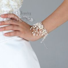 Bridal Jewelery SetsPearl Wedding Jewelry Sets от adriajewelry