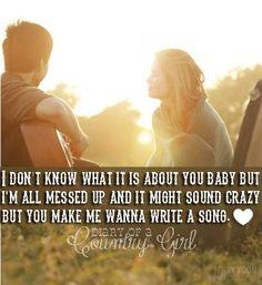 You make me wanna write a song thomas rhett lyrics you make me wanna