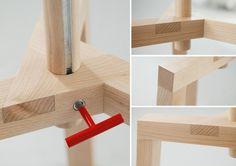 'Takka' designed by Agnieszka Mazur / detail