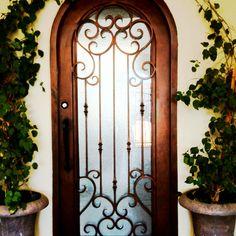 This door should lead to a garden...