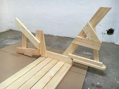 BATIKO ist die Gartentisch-Gartenbank-Kombination aus Naturholz geölt - Gartenmöbel mit Pfiff Folding Picnic Table Bench, Diy Picnic Table, Picnic Table Plans, Wooden Bench Plans, Woodworking Projects Diy, Outdoor Furniture, Outdoor Decor, Projects To Try, Design