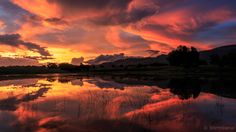 """""""Crescendo"""" The hiatus of the most amazing sunset I have ever witnessed at Thaba Manzi Ranch or anywhere else for that matter. I called it """"Symphony Sunset"""" as the various stages and colours during the hour that I photographed it seemed composed by Mother Nature just to remind me of how amazing the world and living in it can be."""