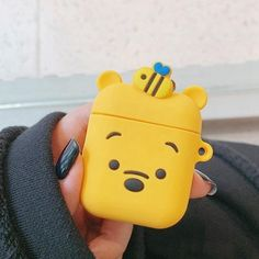 Earphone Case For Airpods Case Silicone Cute Cartoon Mouse Headphone Case for Apple Airpods 2 Case For Earpods Accessories Ring headphone apple Fone Apple, Apple Airpods 2, Cute Ipod Cases, Accessoires Iphone, Earphone Case, Air Pods, Airpod Case, Iphone Accessories, Iphone Phone Cases