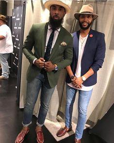 Gq Style, Men Style Tips, Black Men Fashion Tips, African Men Fashion, Men's Fashion, Mens Fashion Wear, Handsome Black Men, Black Man, Stylish Men