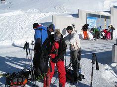 Check #Skiausrüstung - Das Team von der-ausruester.de macht sich bereit für die nächste Etappe beim Skifahren in den Alpen in Tirol Österreich
