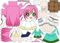 Moka san Papertoy, Rosario to Vampire, Anime Papercraft ^-^ Moka, Papercraft Anime, Tour Eiffel, Paper Art, Paper Crafts, Origami Templates, Anime Crafts, Chibi Girl, Anime Dolls