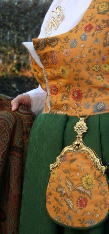 FolkCostume&Embroidery: Overview of Norwegian Costumes. Part 1, the Southeast. Follo Festdrakt