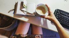 Moin Welt! Erst mal Kaffee und Gedanken machen.  Immer dabei: mein Planer von @nauli mein Stylo Ecridor von @caran_dache und ein feiner #lavazza #caffe  .  #wandklex #meetthemaker #behindthescenes #atelier #artist #studio #büro #office #workspace #cafe #caffe #coffee #kaffee #carandache #coffein #planner #business #schedule #terminplaner #atelier #artist #studio #notizen